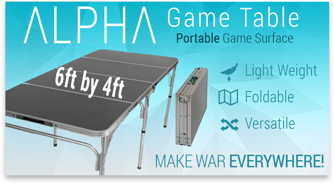 How Make Room For A X Warhammer Table