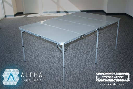 ALPHA Game Table - an epic 6x4 gaming table 6