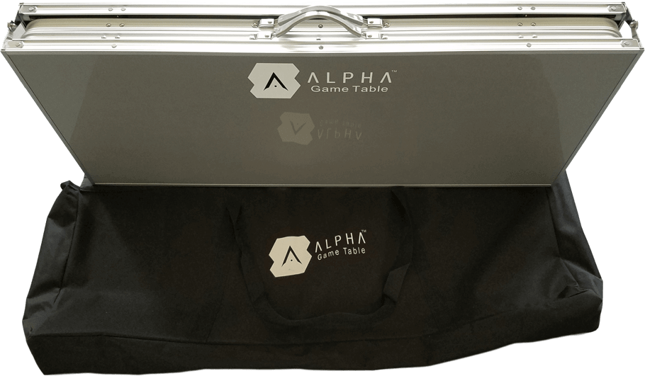 ALPHA Game Table the best 6x4 Gaming Table that moves with you 3