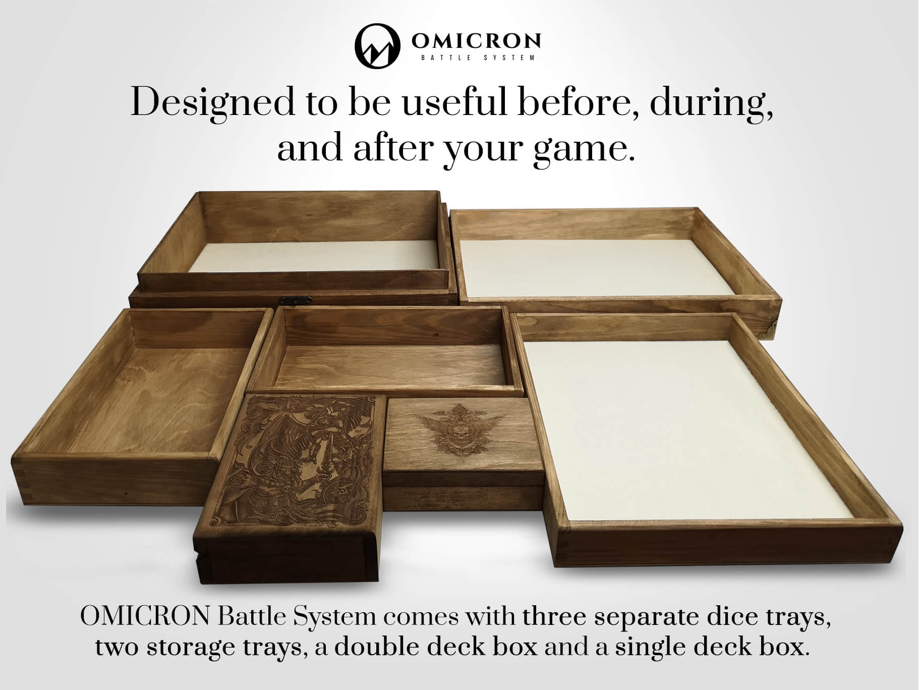 OMICRON Battle System - Organize Your Chaos in Style 5