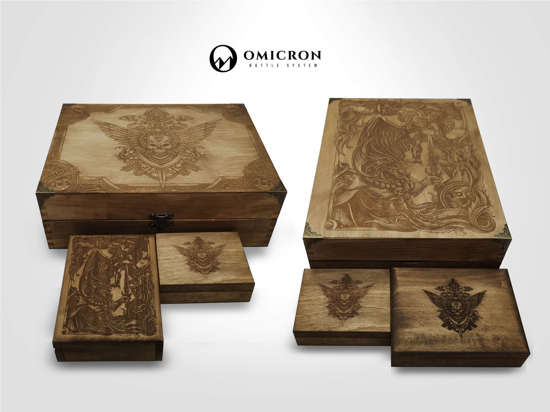 OMICRON Battle System - Organize Your Chaos in Style 8